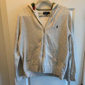 POLO Ralph Lauren Aztec Print Zip Up Sweatshirt